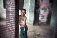A young boy, Dhaka, Bangladesh