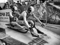 The Luge start: ©2014 David Burnett/IOC