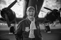 Bud Rice, who flew Whisky 7 on June 5, 1944