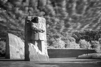The Martin Luther King Memorial, a stunning piece of sculpture