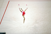 Where did she go? Rhythmic gymnastics, 2008