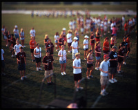 The Virginia Tech marching band