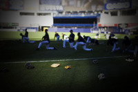 Yankees stretch, pre game