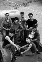 The Outsiders, on the set of the 1982 film, Tulsa, OK