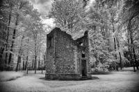 A building known as the Hunting Lodge: Belleau Wood  World War I