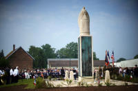 Cantigny Rededication of 1st Inf Div Monument