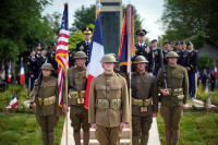 The Big Red One Color Guard: Cantigny 2018