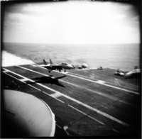 landing deck on the Carrier