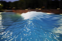 Surfing at Typhoon Lagoon